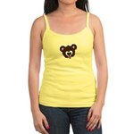 Cute Brown Bear Wild Animal Jr. Spaghetti Tank