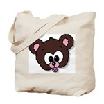 Cute Brown Bear Wild Animal Tote Bag