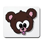 Cute Brown Bear Wild Animal Mousepad