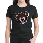 Cute Brown Bear Wild Animal Women's Dark T-Shirt