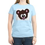 Cute Brown Bear Wild Animal Women's Light T-Shirt