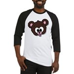 Cute Brown Bear Wild Animal Baseball Jersey