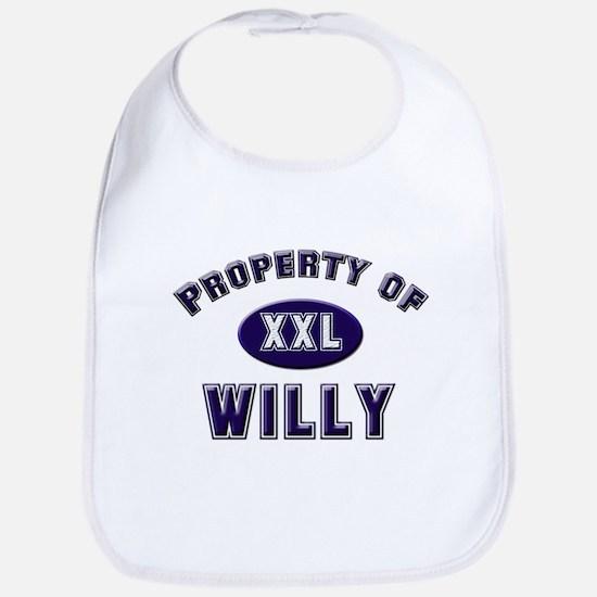 My heart belongs to willy Bib