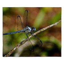 Dragon fly print King Duvet