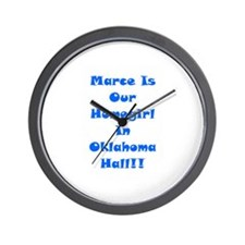 Marce Is Our Homegirl Wall Clock