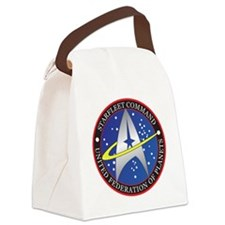 StarfleetCommand Canvas Lunch Bag