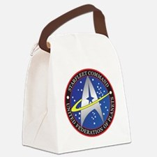 StarfleetCommand Canvas Lunch Bag