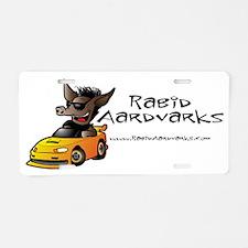 Gus-RaceCar Aluminum License Plate