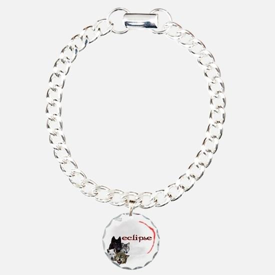 4-Twilight Eclipse Movie Charm Bracelet, One Charm