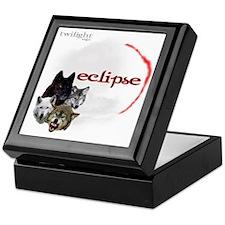 4-Twilight Eclipse Movie  Wolf Pack M Keepsake Box