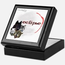 4-Twilight Eclipse Movie  Wolf Pack M Keepsake Box