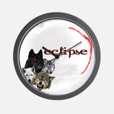 4-Twilight Eclipse Movie  Wolf Pack Moo Wall Clock