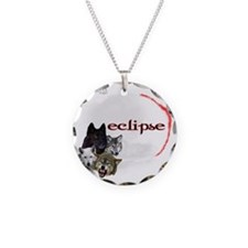 4-Twilight Eclipse Movie  Wo Necklace Circle Charm