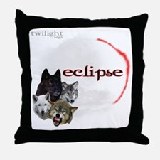 4-Twilight Eclipse Movie  Wolf Pack M Throw Pillow