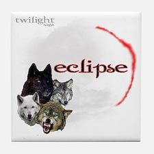 4-Twilight Eclipse Movie  Wolf Pack M Tile Coaster
