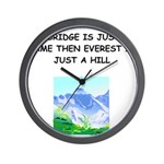 BRIDGE2.png Wall Clock