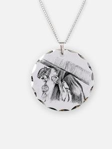 jesus12 Necklace Circle Charm
