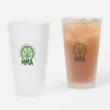 Redefining_MMA_Dark Drinking Glass