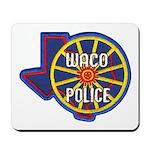 Waco Police Mousepad
