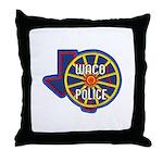 Waco Police Throw Pillow