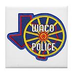 Waco Police Tile Coaster
