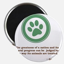 GandhiGreenPaw Magnet