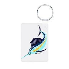 sailfish diving down Keychains