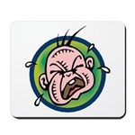 Funny Screaming Crying Baby Art Mousepad
