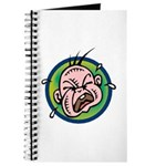 Funny Screaming Crying Baby Art Journal