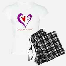 DoulasHeartPurple Pajamas