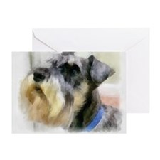 schnauzersrule Greeting Card