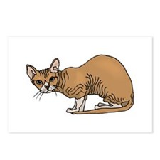 Hairless cat Postcards (Package of 8)