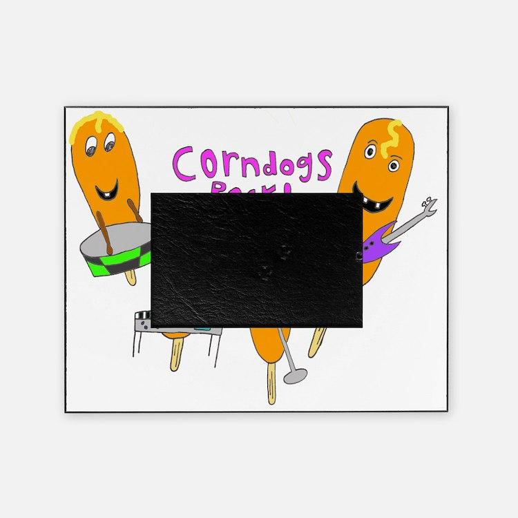 2-corndogs_rock_1 Picture Frame