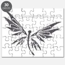 dragonfly art Puzzle