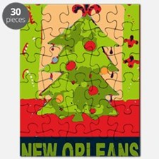 New Orleans Christmas tree Puzzle