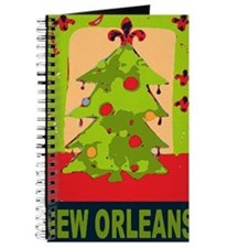 New Orleans Christmas tree Journal