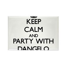 Keep Calm and Party with Dangelo Magnets