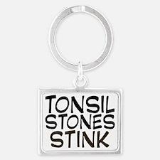 tonsilstonesstink Landscape Keychain