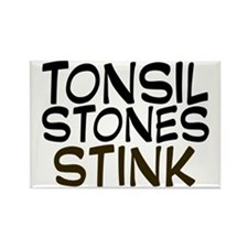 tonsilstonesstink Rectangle Magnet