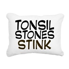 tonsilstonesstink Rectangular Canvas Pillow