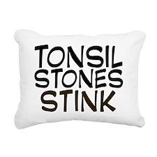 tonsilstonesstink Rectangular Canvas Pillow