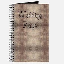Antique Gothic Bridal / Wedding Journal