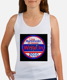 Murkowski Write In Women's Tank Top