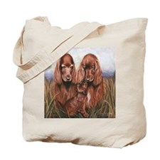 Irish_Setter_Dogs Tote Bag