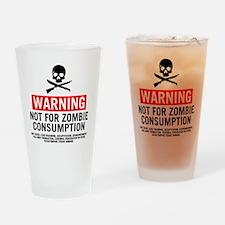 ZombieConsumptionNoBG2 Drinking Glass
