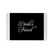 Bride's Friend - Formal Rectangle Magnet