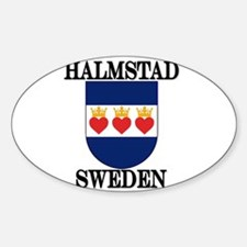 The Halmstad Store Oval Decal