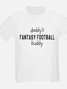 Daddys Fantasy Football Buddy T-Shirt