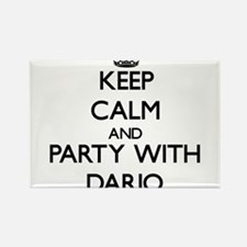 Keep Calm and Party with Dario Magnets