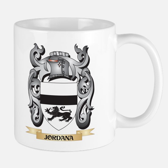 Jordana Coat of Arms - Family Crest Mugs